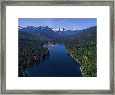 Cooper Lake Framed Print