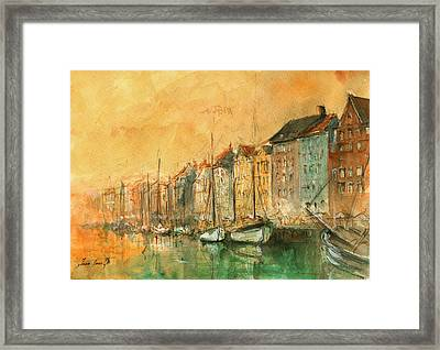 Copenhagen Framed Print by Juan Bosco