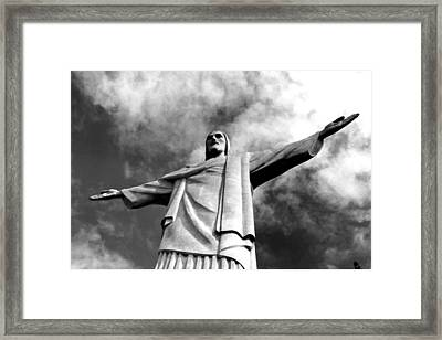 Corcovado - Rio De Janeiro - Brasil Framed Print by Eduardo Costa