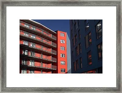 Cornering Off Framed Print by Jez C Self