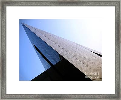 Corporate Architecture Framed Print by Yali Shi
