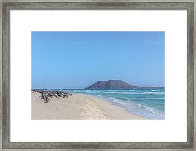 Corralejo - Fuerteventura Framed Print