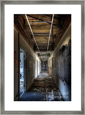 Corridor Framed Print by Svetlana Sewell