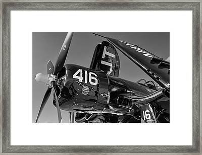 Corsair's Nose Framed Print