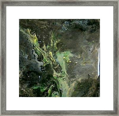Cosmic Ash Framed Print