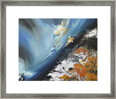 Cosmic Connections Series Framed Print