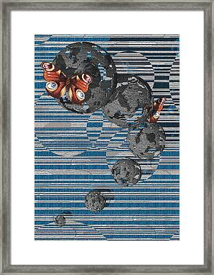 Cosmos Framed Print by Haruo Obana