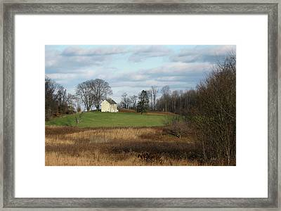 Country Comfort Framed Print by Gordon Beck