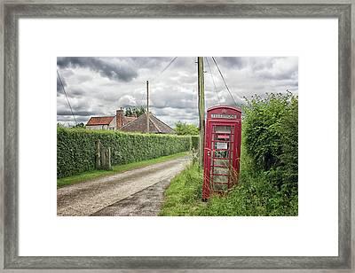 Country Lane Framed Print