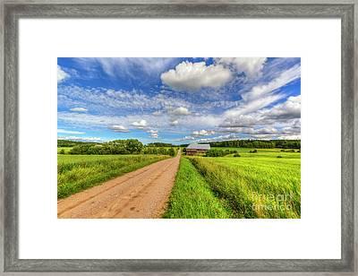 Countryside Framed Print by Veikko Suikkanen