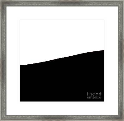 Cow Hill  - Triptych   Part 2 Of 3 Framed Print by Sean Davey