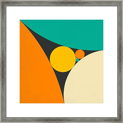Coxeter's Loxodromic Sequence Of Tangent Circles Framed Print