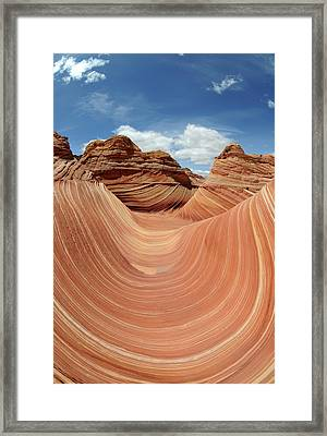 Coyote Buttes Framed Print by David Hogan