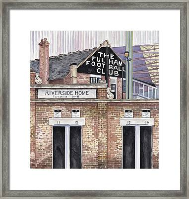 Craven Cottage Framed Print