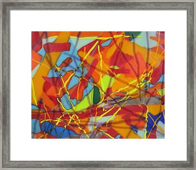 Crayola No.2 Framed Print by Mark Lubich