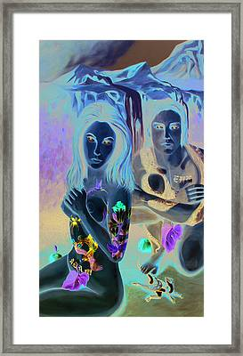 Creation Framed Print by Matthew Lake
