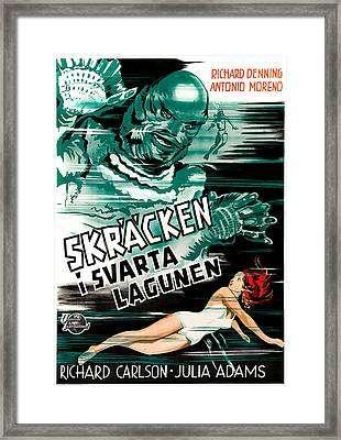 Creature From The Black Lagoon, Aka Framed Print by Everett