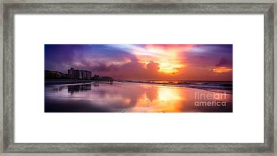 Crescent Beach September Morning Framed Print