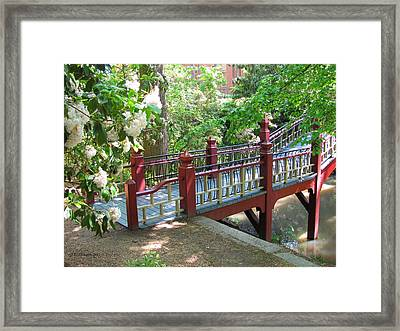 Crim Dell Bridge IIi Framed Print