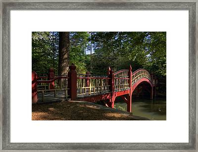 Crim Dell Bridge Framed Print