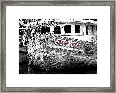 Crimson Tide Framed Print