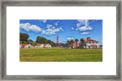 Crissy Field - San Francisco Framed Print by Mountain Dreams
