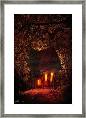 Crooked House Framed Print