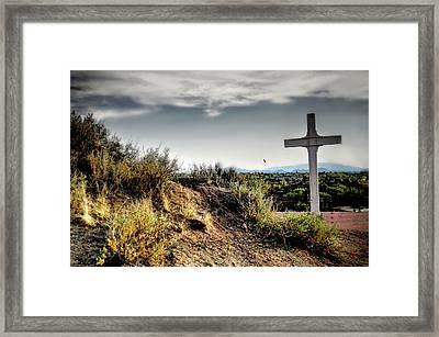 Cross Of The Martyrs Framed Print