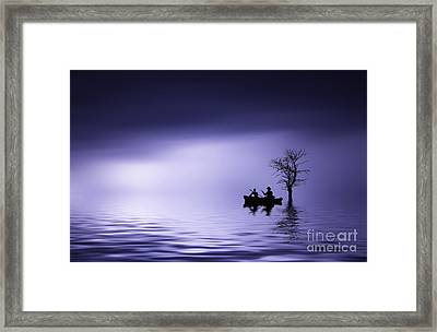 Cruise Framed Print by Bess Hamiti