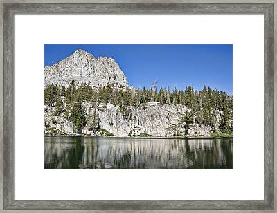 Crystal Crag Framed Print by Kelley King