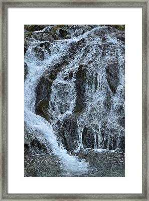 Crystal Creek Falls Framed Print