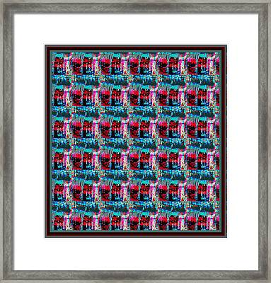Crystal Energy Crystal Stone Micro Photography Pattern Graphic Art   Framed Print