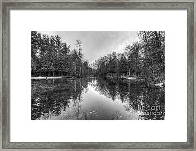 Crystal River Framed Print