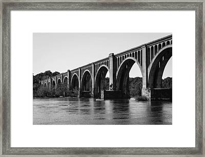 Csx A-line Bridge Framed Print