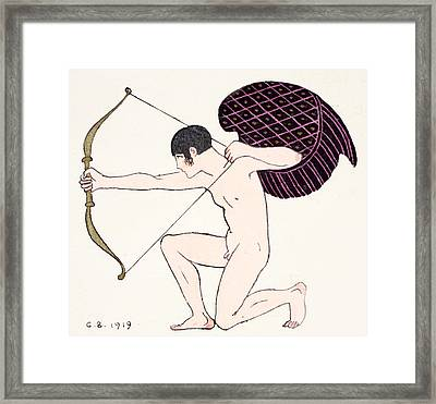 Cupid Framed Print
