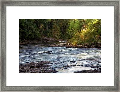 Current River Rapids Framed Print by Bill Morgenstern