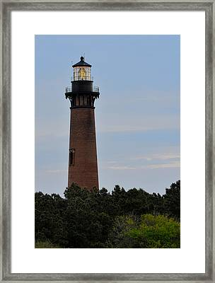 Curritucks Light Framed Print