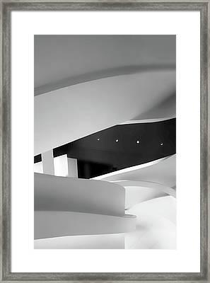 Curvature  Framed Print by Jessica Jenney