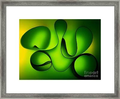 Curved Framed Print