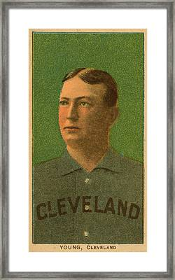 Cy Young, Cleveland Framed Print