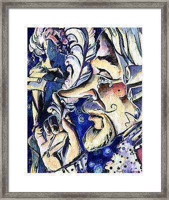 Cyrano Framed Print