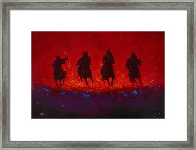 Dakota Thunder Framed Print