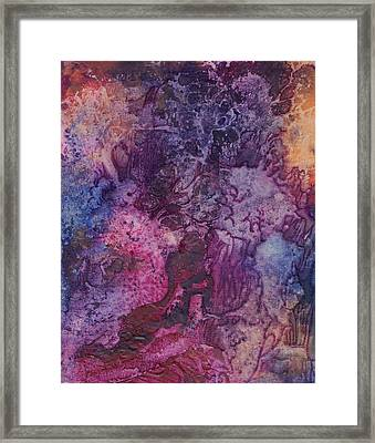Framed Print featuring the painting Dali by Pat Purdy