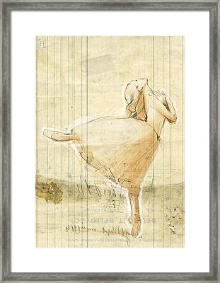 Dance Framed Print by H James Hoff