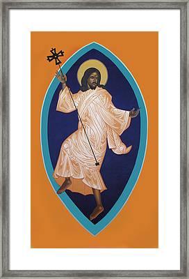 Dancing Christ Framed Print by Mark Dukes
