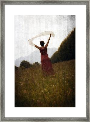 Dancing Framed Print by Joana Kruse