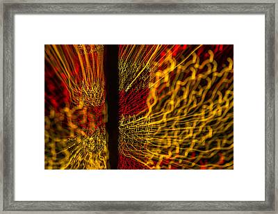 Dancing Lights 5  Framed Print by Penny Lisowski