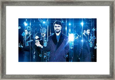 Daniel Radcliffe Now You See Me 2 Framed Print