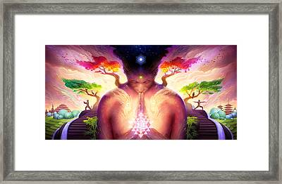 Dao Of Yoga Framed Print by George Atherton