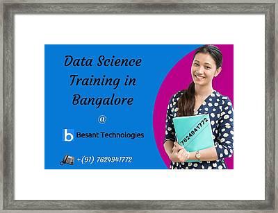 Data Science Framed Print